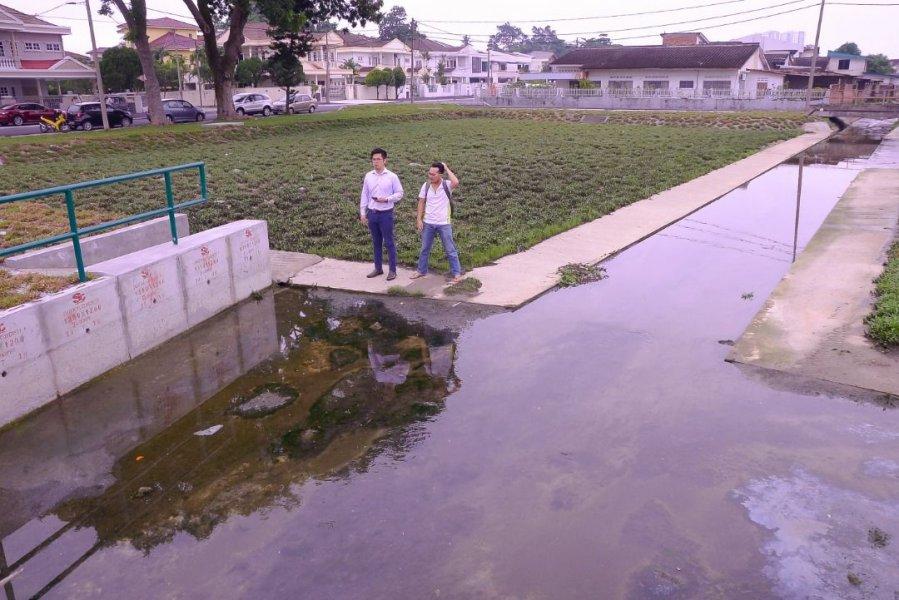 治水工程竣工 怡大和园挥别水灾