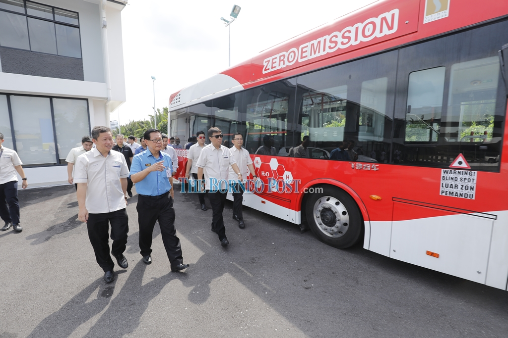 Lee: Hydrogen buses all fixed up, trial runs to recommence