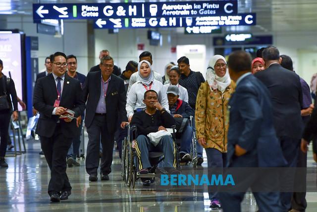 Six injured in Turkey accident return home