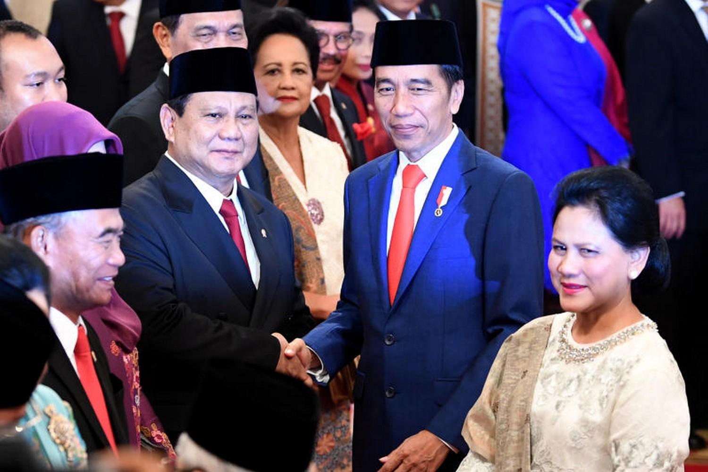 Widodo takes a gamble, includes fierce rival in cabinet