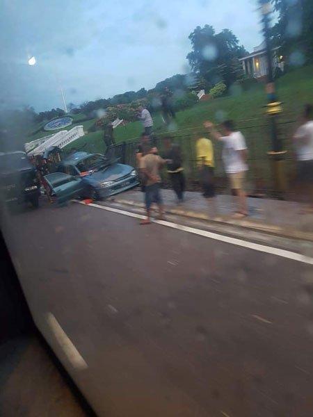 [轿车巴士相撞案]最新消息!重伤司机不治 死者人数增至5人