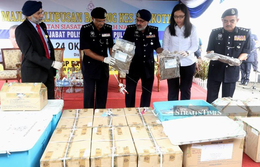 Penang grenades and bullets haul not linked to drug activities: Police