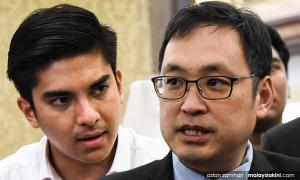 Chong criticises 'immature' Syed Saddiq for threatening DAP with ultimatum