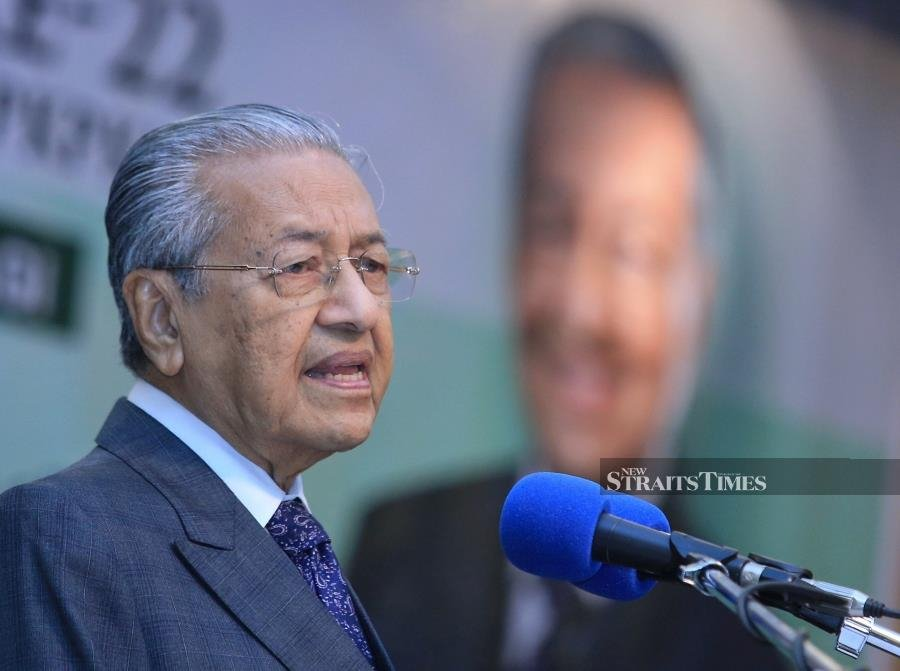 It hurts when Malays gathering are said to be racist, says Dr Mahathir