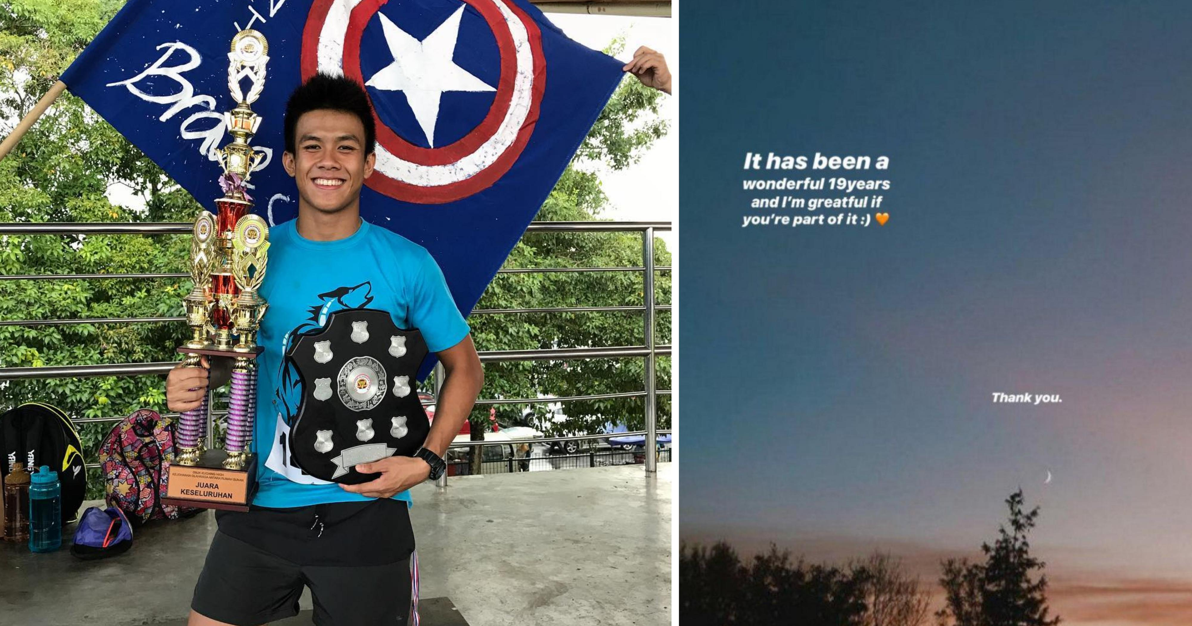M'sian swimmer, 19, found dead at home after posting cryptic message on Instagram