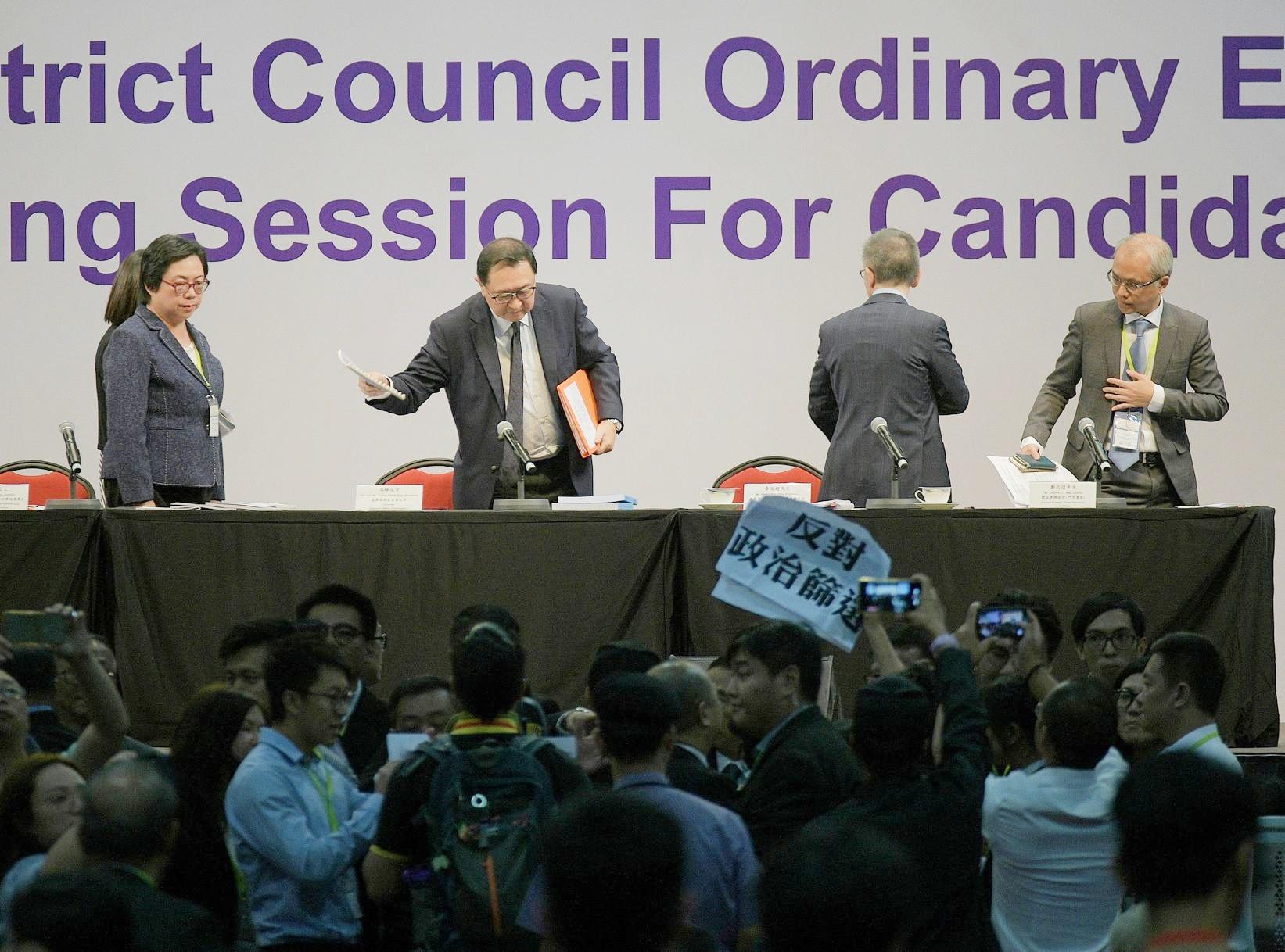 【区会选举】指无参与民政事务专员署任安排 选管会吁惜良好选举文化
