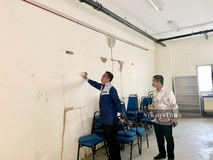 Dilapidated school gets attention after it's highlighted by NST