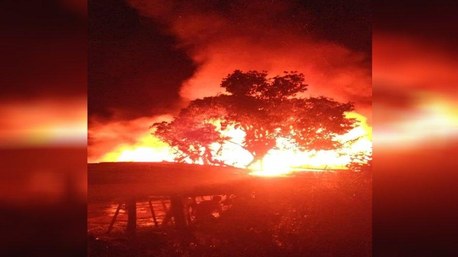 Elderly couple killed in Ranau house fire