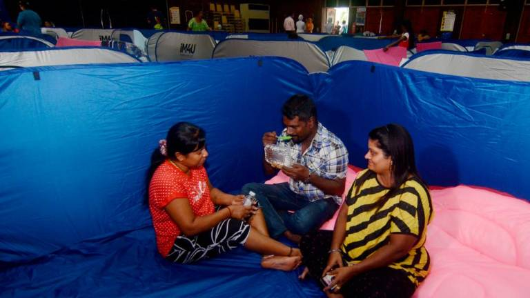 Flood relief centres reopen in Bukit Mertajam