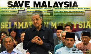 Yoursay: Once the saviour, Dr M is now Harapan's tormentor
