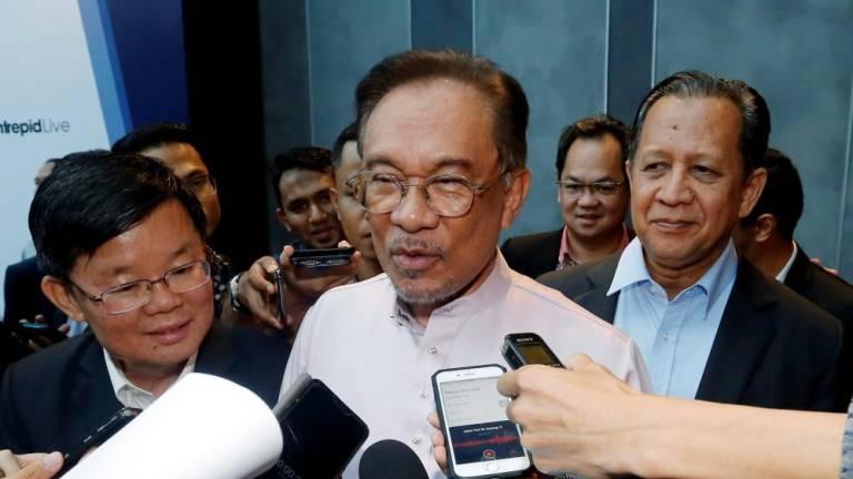 Salleh Keruak not official PKR member yet, says Anwar