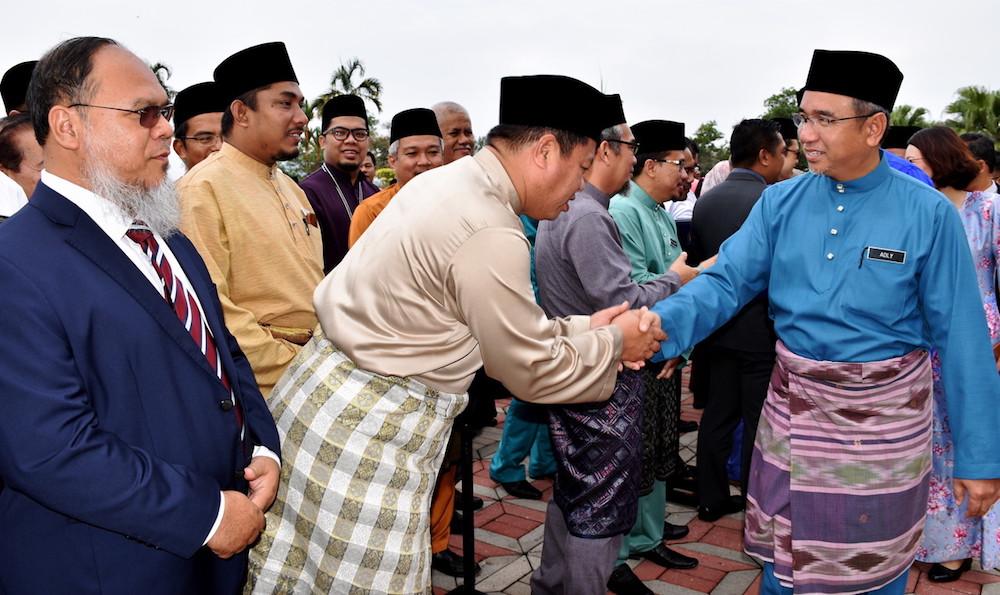Melaka CM: State is focused on the people, not change of govt talk