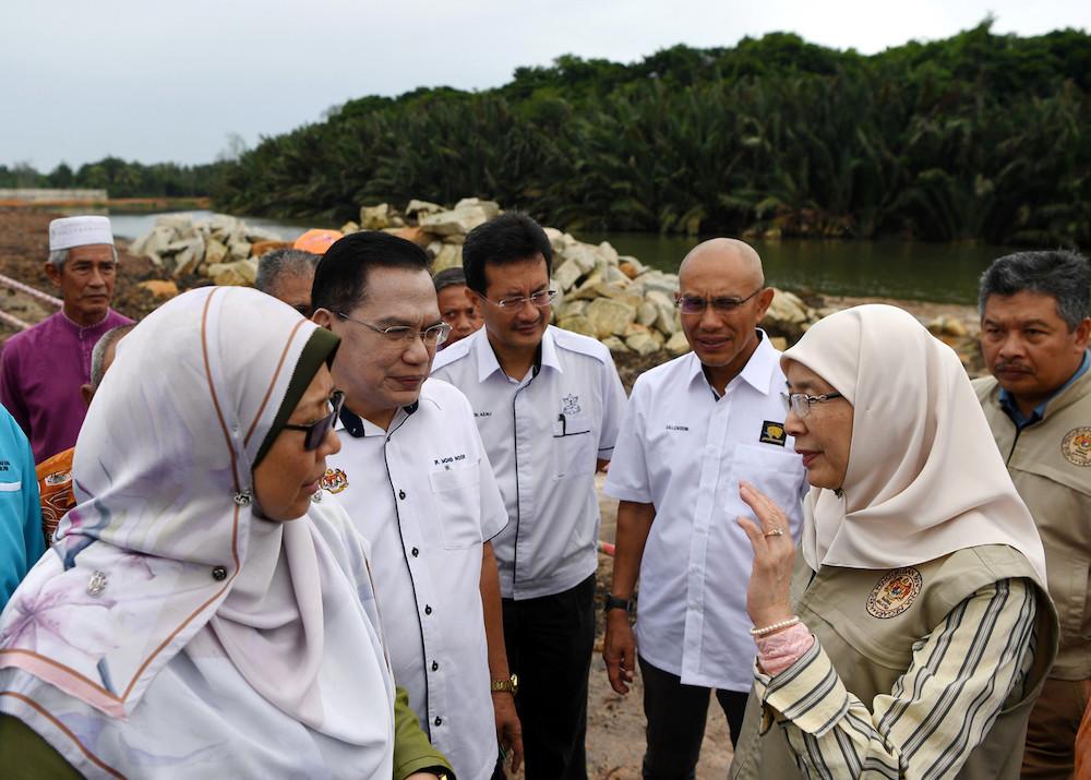 DPM visits flood mitigation plan in Sungai Belat