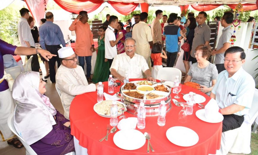 Yummy delights at Deepavali open house
