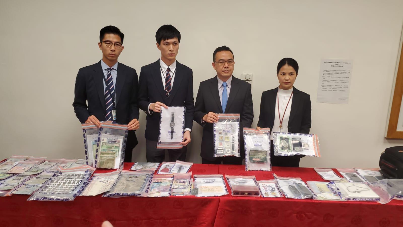 长洲拘2人涉8宗爆窃130万元财物 警方:示威致罪案飚升
