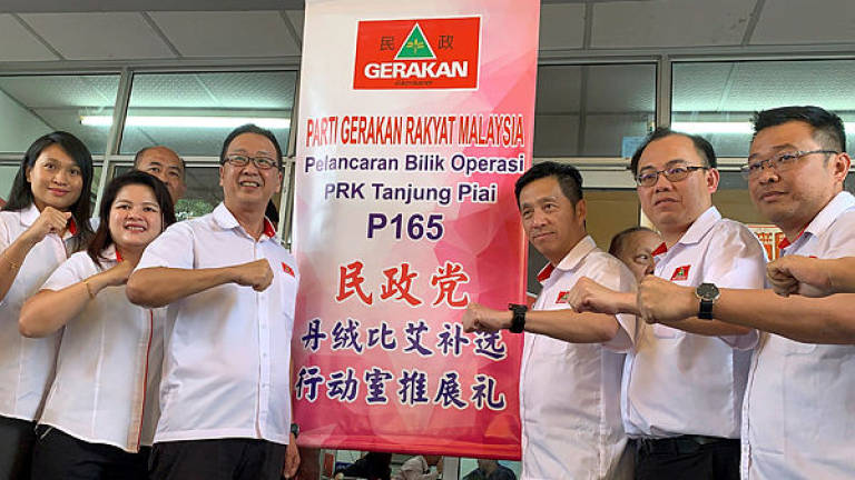 Gerakan to announce Tanjung Piai by-election candidate tomorrow