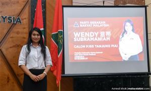 Gerakan fielding deputy sec-gen Wendy Subramaniam in Tanjung Piai by-election