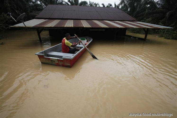Floods: More than 2,000 people in six states relocated