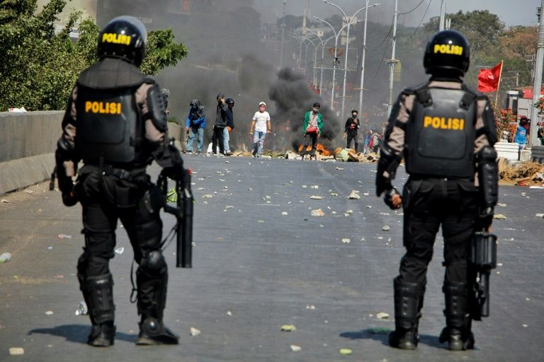Ten 'unlawfully killed' in Indonesia election riots: rights agency
