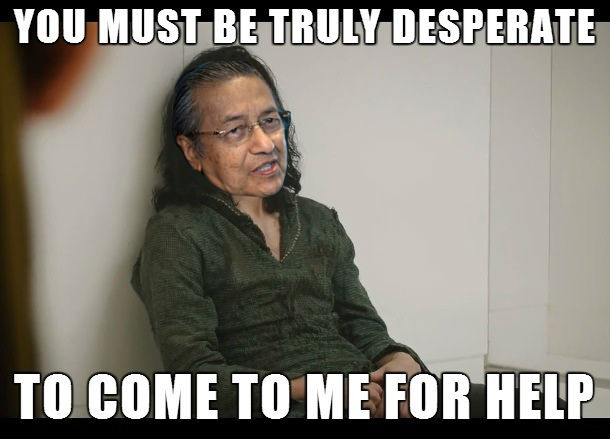Dr Mahathir apologises for bailing out wealthy business tycoons during the 90's financial crisis
