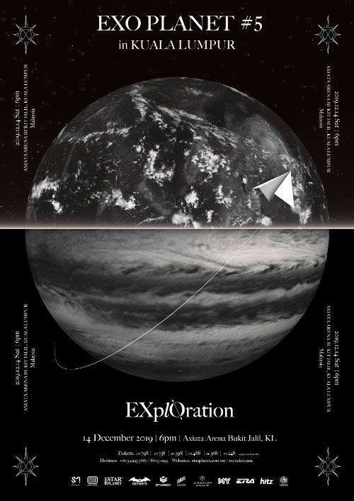 """EXO to hold Fifth World Tour """"EXplOration"""" in Malaysia this December"""