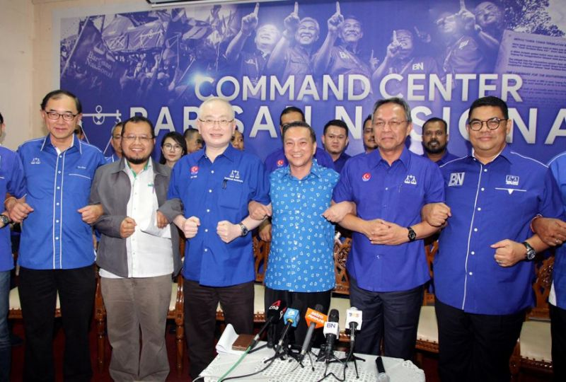 Fielding MCA man for Tanjung Piai no pressure for BN, says Johor chief
