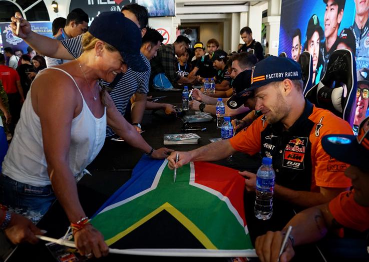 Tourism Malaysia supports MotoGP via meet-and-greet