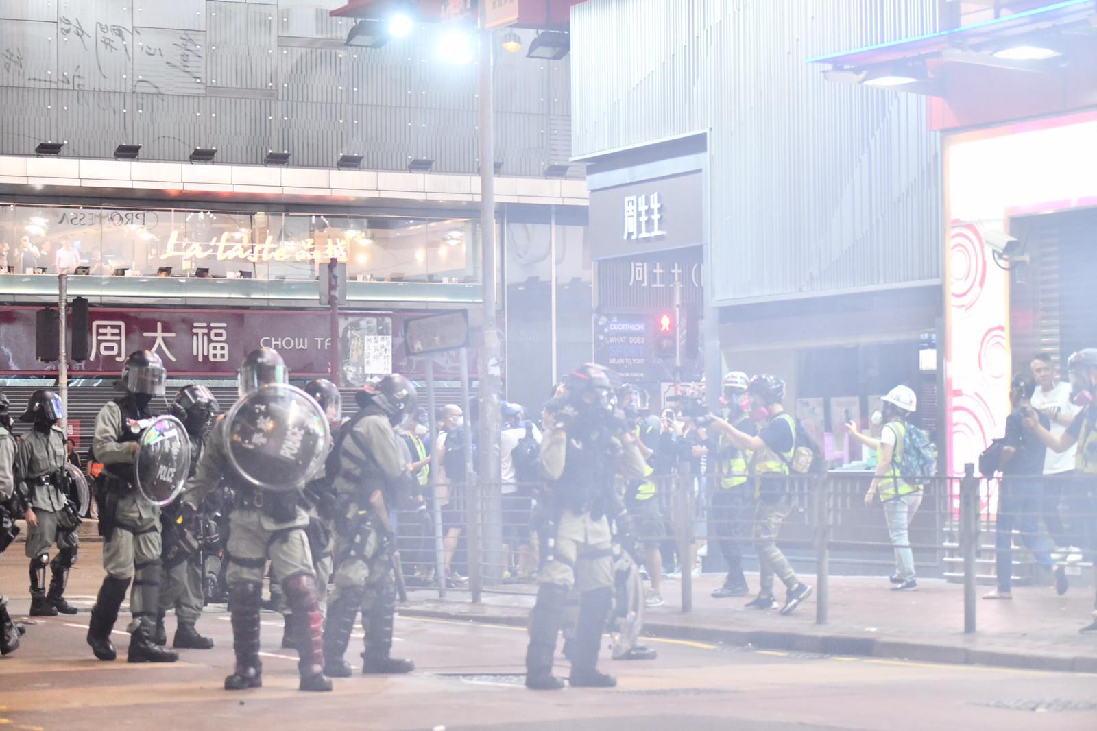 【修例风波】英国呼吁示威者结束暴力 各方应以政治方法化解危机