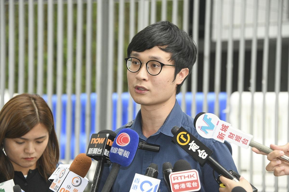 区诺轩范国威选举呈请上诉被拒 刘颕匡欢迎裁决促停止政治筛选