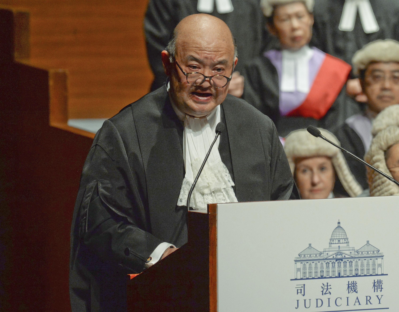 终院首席法官马道立2021年1月退休 指更多时间陪伴家人