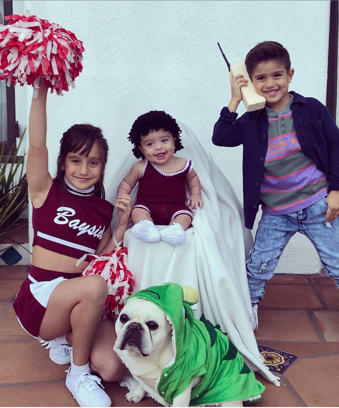 Slater S Squad Mario Lopez S Kids Adorably Channel Saved By The