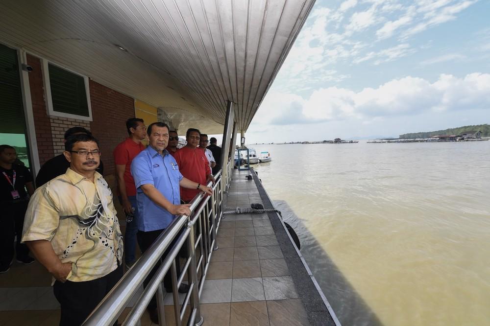 Kukup International Ferry Terminal fully operational Nov 6