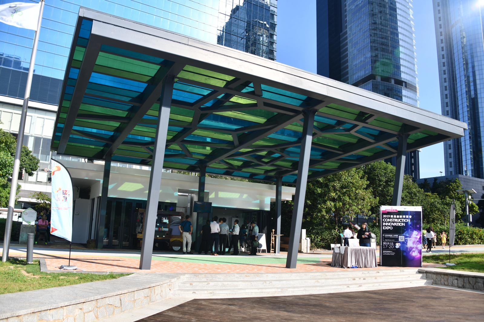 九龙湾「零碳天地」引入全港首个雨水制冷装置