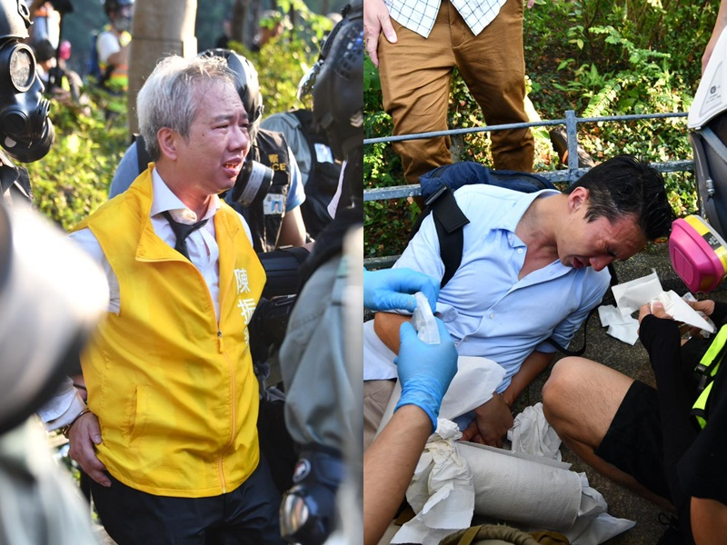【修例风波】警铜锣湾拘捕多人 最少两名区选候选人被捕