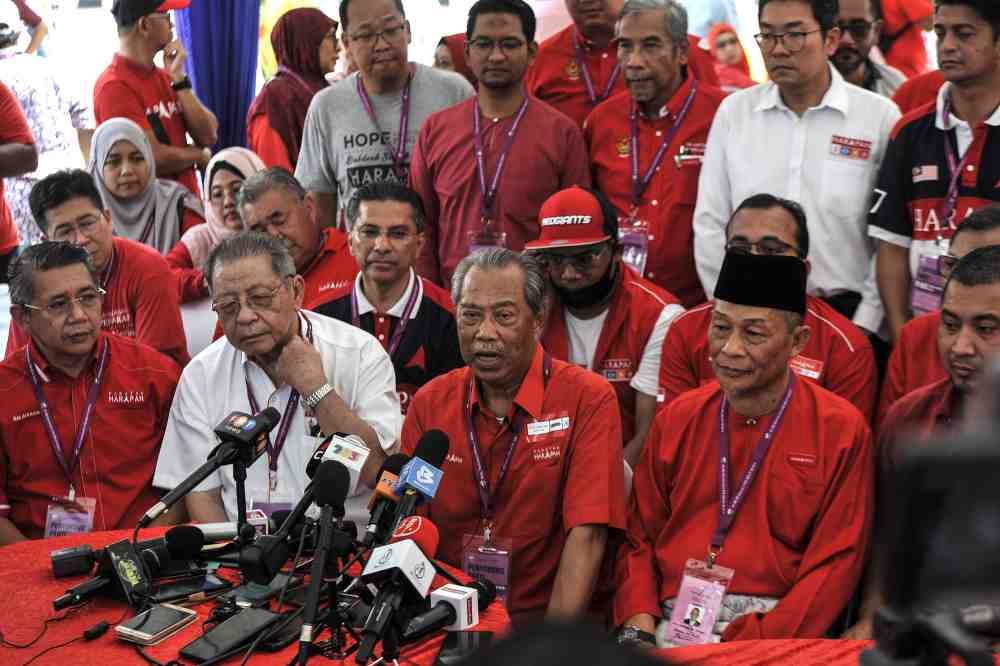 Muhyiddin says Perak solid, won't fall from inter-party misunderstandings