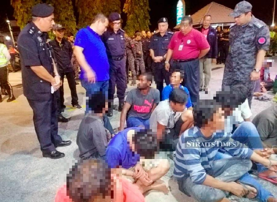 19 foreigners detained in PD