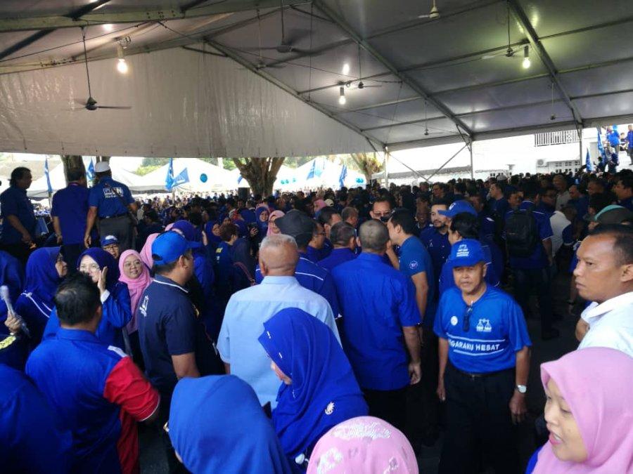 【丹绒比艾补选】助选缺席1MDB审讯 纳吉:拿了一天病假