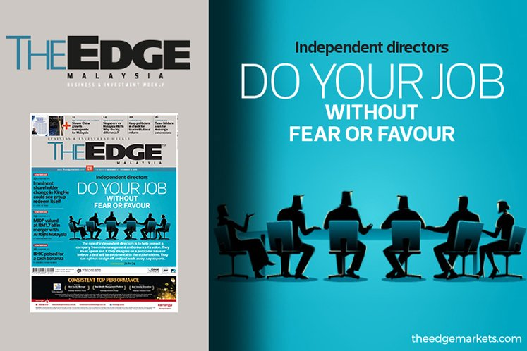 Do your job without fear or favour, independent directors told