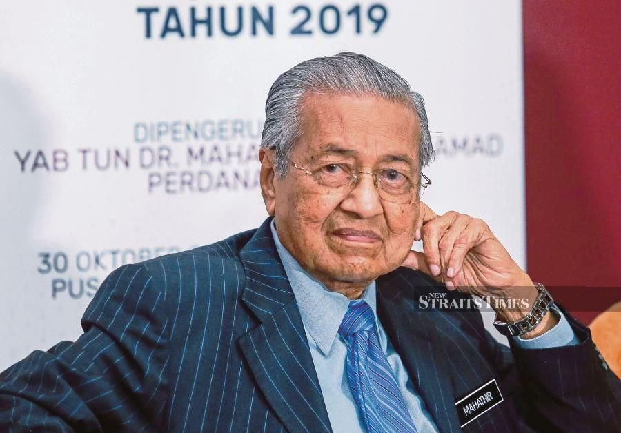 Mahathir says no to Goldman's 1MDB offer of under $2 bln to Malaysia- FT