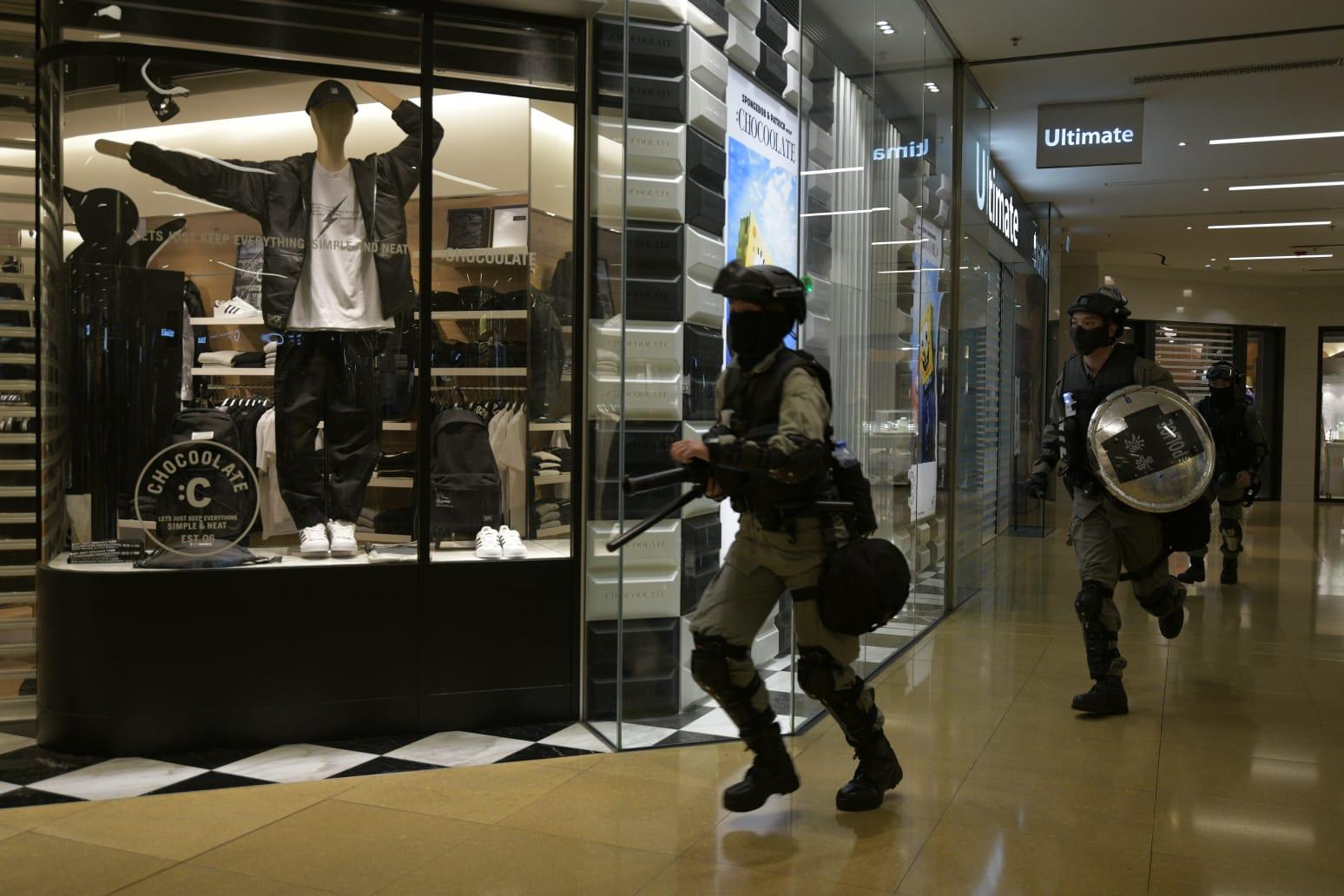 【修例风波】太古城中心因安全理由关闭 商场称无报警