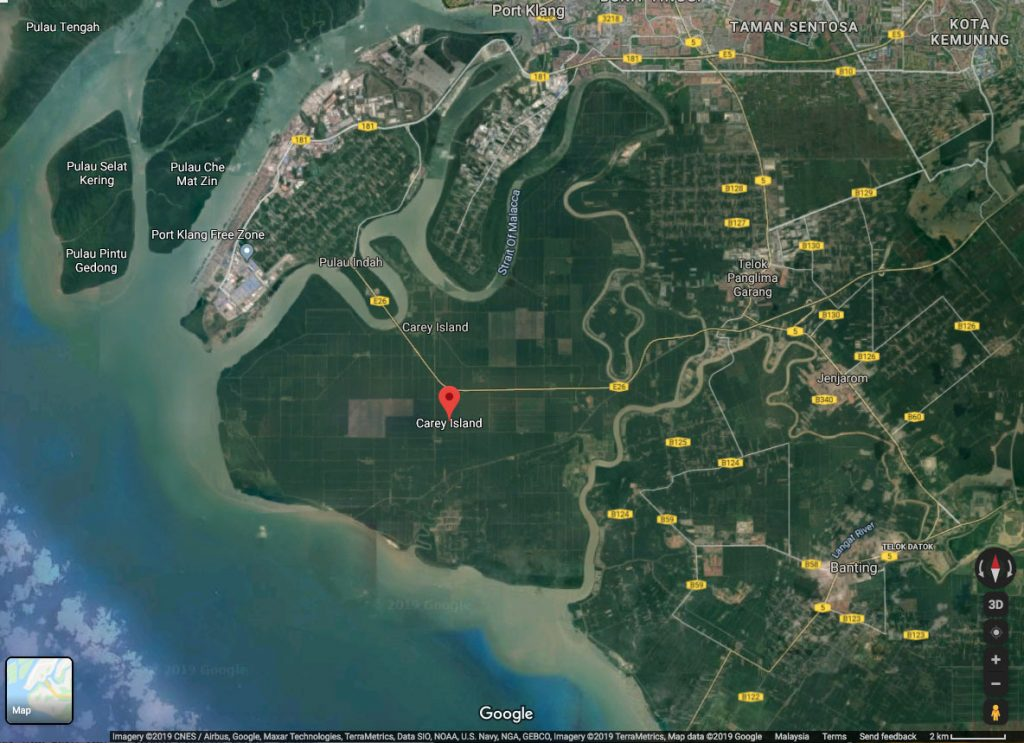 Study on Carey Island to complete in 1Q21
