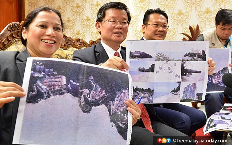 World-class artificial island resort proposed by developer, says Penang CM