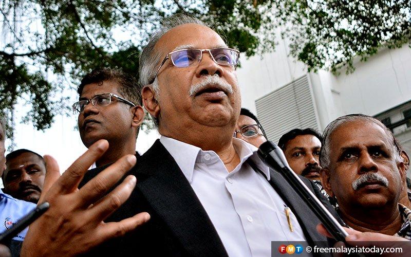 Ramasamy denies knocking human resources ministry on MTUC