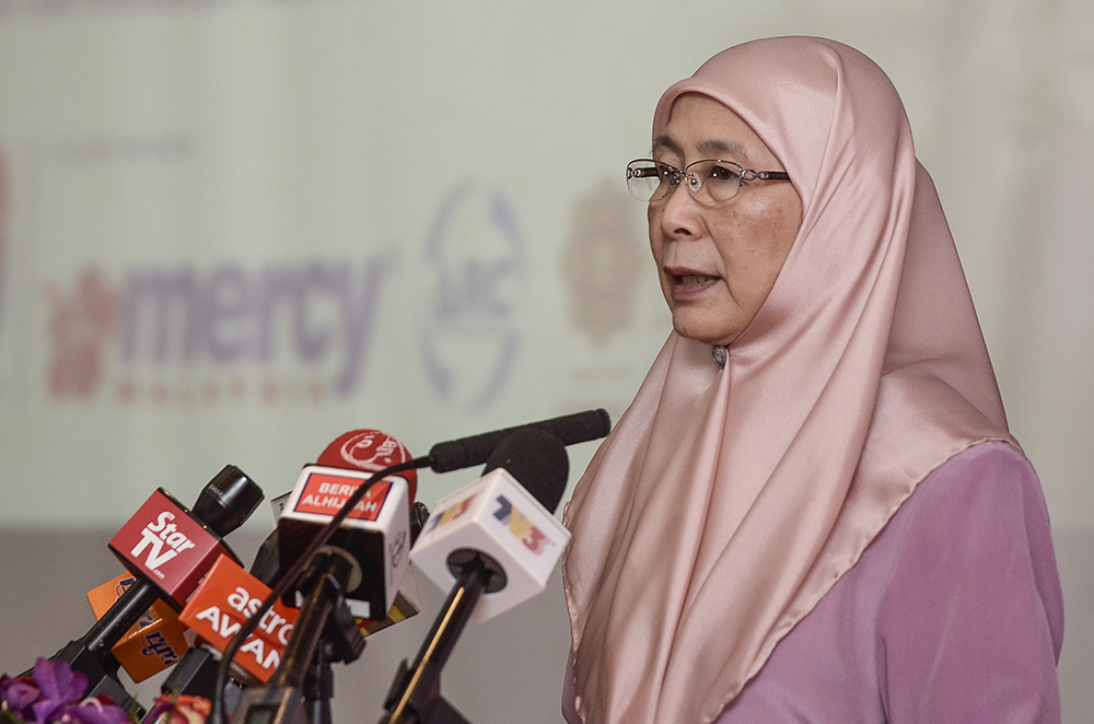 One-Stop Crisis Centre guidelines to be improved, says Dr Wan Azizah