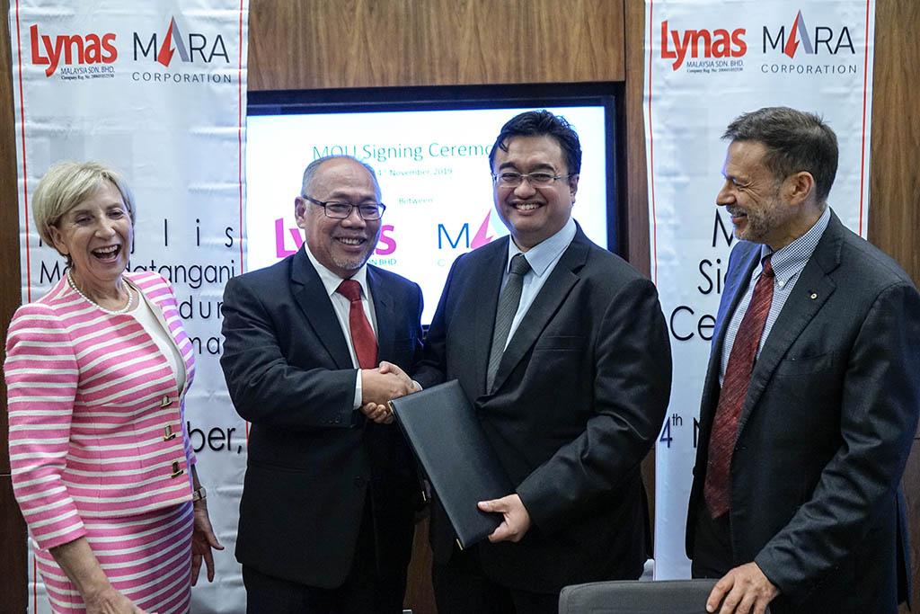 Lynas, Mara Corp ink MoU to explore downstream activity