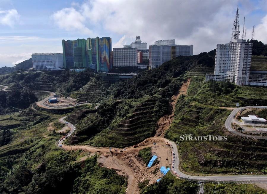 Landslide affected Jalan Genting — Amber Court to be open to all vehicles tonight