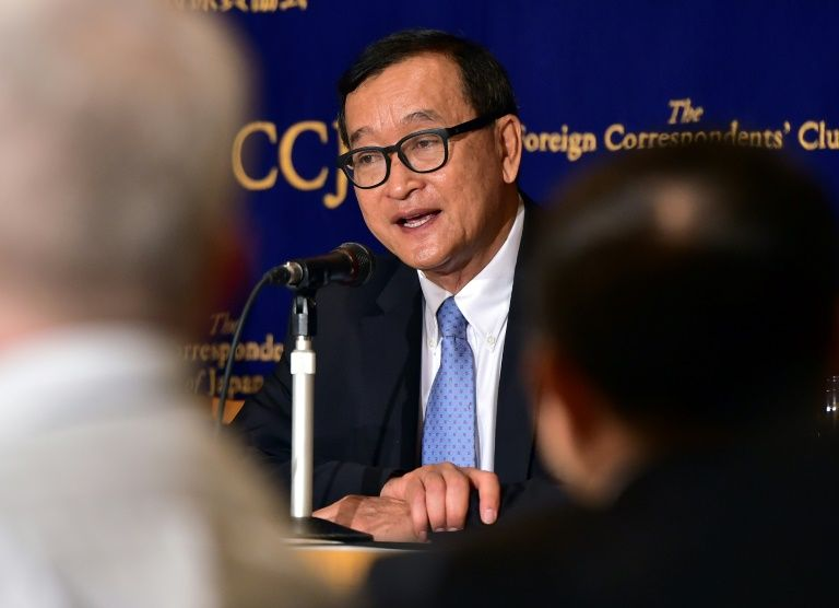 Thai PM says cambodian opposition leader not allowed to transit