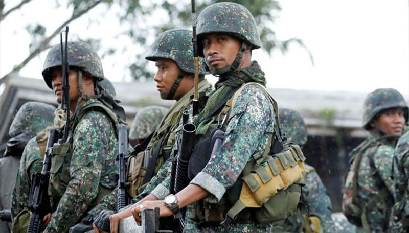 3 killed as Philippine army thwart IS-linked suicide bombing