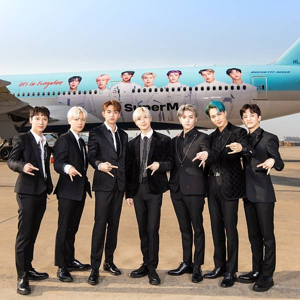 K-pop acts SuperM and BoA star in Korean Air's new safety video