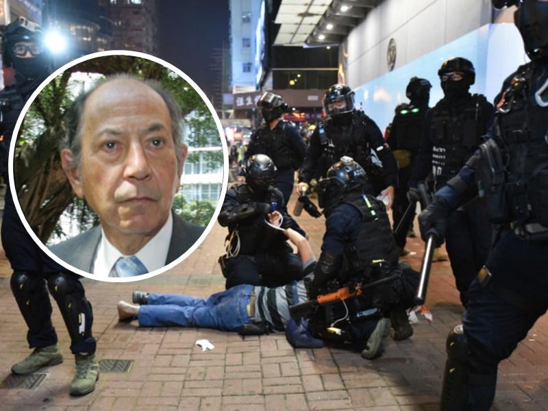 称对香港现状感悲哀 烈显伦:法庭需增人手处理额外案件